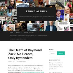 Example #2 - Raymond Zack (2011)