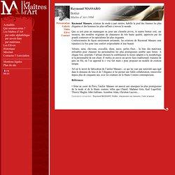 Raymond MASSARO Bottier, Maître d'Art 1994 - Présentation