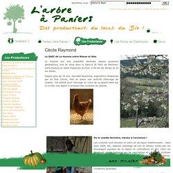 Cécile Raymond - L'Arbre à Paniers, des Producteurs, du Local, du Bio