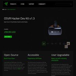 OSVR Hacker Dev Kit
