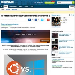 Deja Ubuntu Como Windows XP