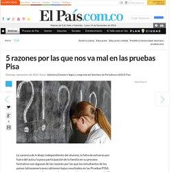 5 razones por las que nos va mal en las pruebas Pisa - Cali - El País