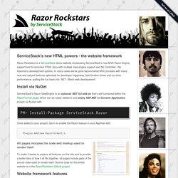 Razor Rockstars