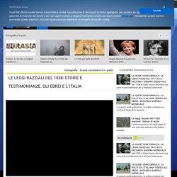 LE LEGGI RAZZIALI DEL 1938: STORIE E TESTIMONIANZE. GLI EBREI E L`ITALIA