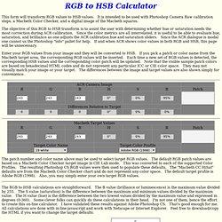 RBG2HSB