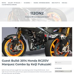 Guest Build: 2014 Honda RC213V Marquez Combo by Keiji Fukuzaki – 112on2