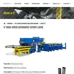 """RC50-H 5"""" CutOff Lathe"""