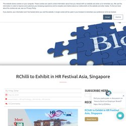RChilli to Exhibit in HR Festival Asia, Singapore