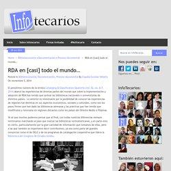 RDA en [casi] todo el mundo… - Claudia Escobar Vallarta (2014)