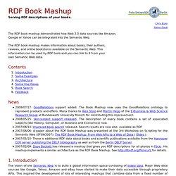 RDF Book Mashup