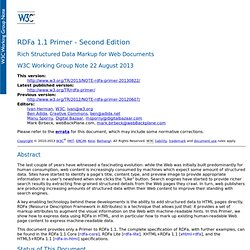 RDFa 1.1 Primer - Second Edition