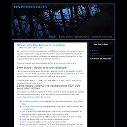 RDFaiser votre blog, 2ème partie : la pratique