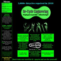 Re-Cycle Engineering - Home page