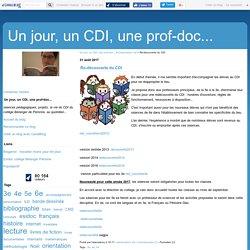 Re-découverte du CDI