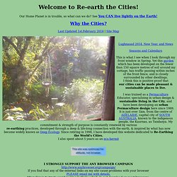 Re-earthing the Cities Home Page