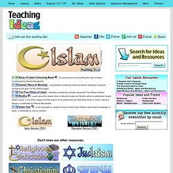 RE - Islam Teaching Ideas