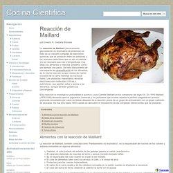 Reacción de Maillard - Cocina Científica