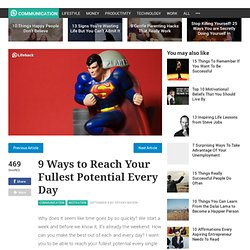 9 Ways to Reach Your Fullest Potential