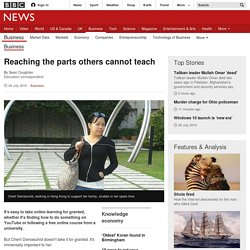 Reaching the parts others cannot teach - BBC News