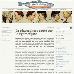 La réacosphère saute sur le #gamergate