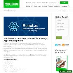 React Js Development - Mobiloitte