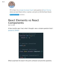 React Elements VS React Components – freeCodeCamp