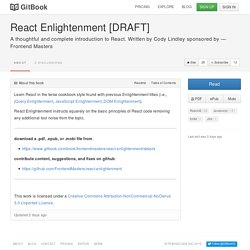 React Enlightenment [DRAFT]