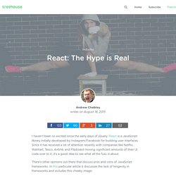 React: The Hype is Real