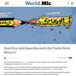 Here's How Arab Papers Reacted to the 'Charlie Hebdo' Massacre