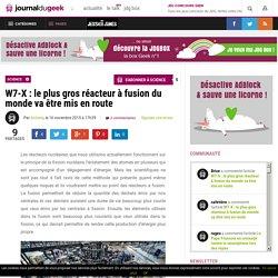 W7-X : le plus gros réacteur à fusion du monde va être mis en route