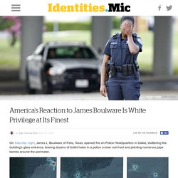 America's Reaction to James Boulware Is White Privilege at Its Finest