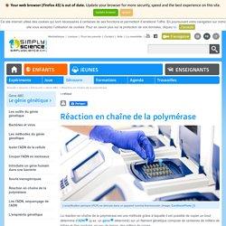 Réaction en chaîne de la polymérase
