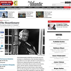 The Reactionary - Magazine
