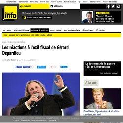 Les réactions à l'exil fiscal de Gérard Depardieu