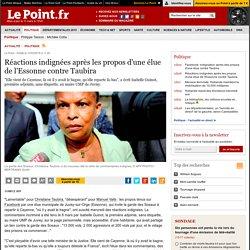 Réactions indignées après les propos d'une élue de l'Essonne contre Taubira