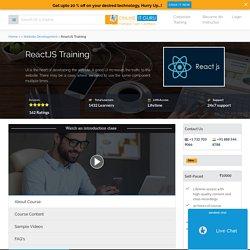 ReactJS Certification Course