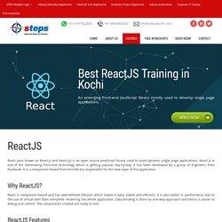 Best ReactJS Training in Kochi