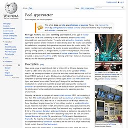 Pool-Type Reactor - Wiki