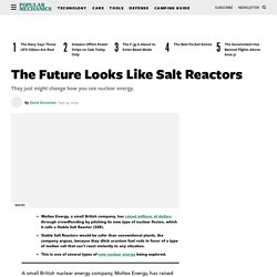 Molten Salt Reactor News and Advantages