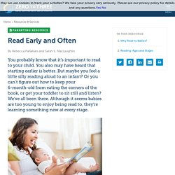 Read Early and Often