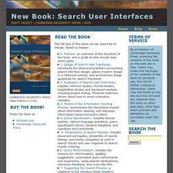 Read It: Search User Interfaces