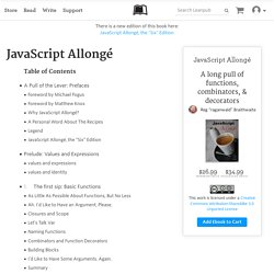 Read JavaScript Allongé