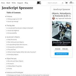 Read JavaScript Spessore