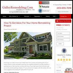 How to Get Ideas for Your Home Remodeling Project