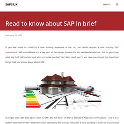 Read to know about SAP in brief