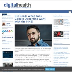 Big Read: What does Google DeepMind want with the NHS?