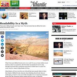 Readability Is a Myth