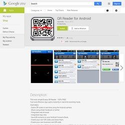 QR koodin lukija Androidi