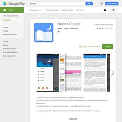 Moon+ Reader - Aplicaciones Android en Google Play