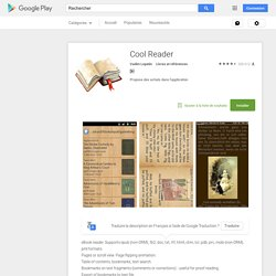Cool Reader - Android Market